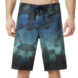 BOARDSHORTS OAKLEY CHANNEL FLOWER 21INCH BISCUIT CAMO FLASH BLUE