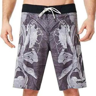 BOARDSHORTS OAKLEY CHANNEL FLOWER 21INCH FORGED IRON GREY