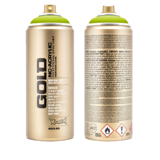 GRAFFITI MONTANA GOLD SPRAY CANS