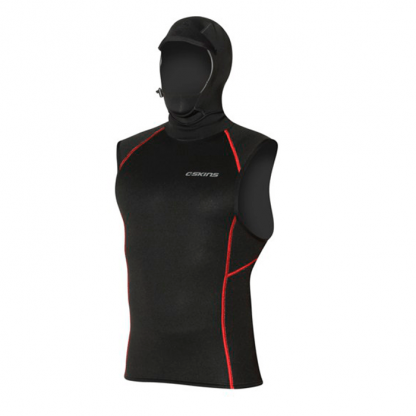 C-SKINS HOT-WIRED 0.5mm QUICK DRY VEST ME KOYKOYΛΑ BLACK/RED